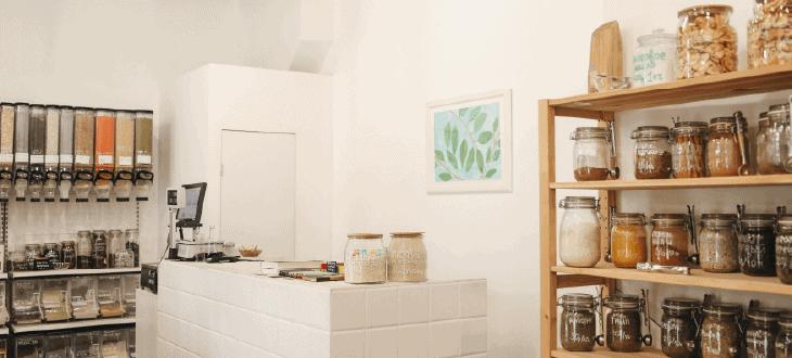 Plant Based Food on Shelves